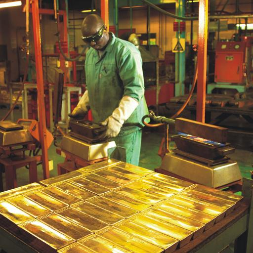 gold bar production